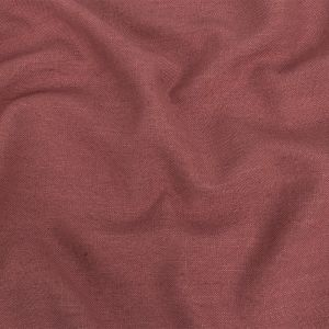 British Imported Rose Polyester, Viscose and Linen Woven