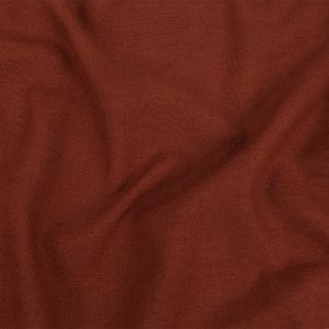 British Imported Terracotta Polyester, Viscose and Linen Woven