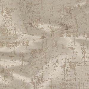 British Imported Oyster Satin-Faced Abstract Drapery Jacquard