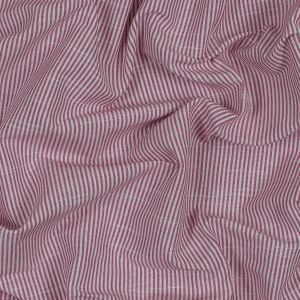 British Hibiscus Candy Striped Cotton Woven
