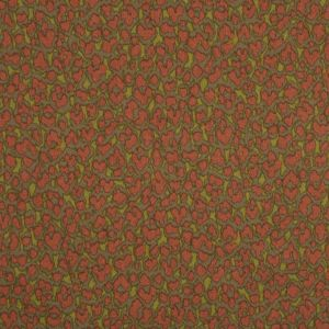 Green and Brown Cotton Woven