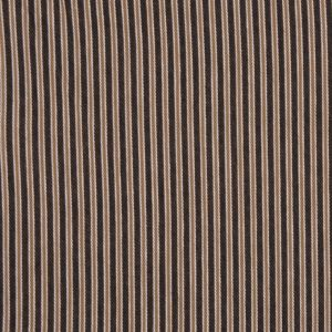 Olive and Moss Green Striped Denim