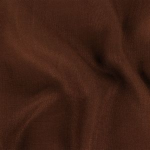 Chocolate Solid Linen