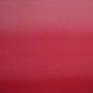 Pink and Red Ombre Slubbed Linen Woven