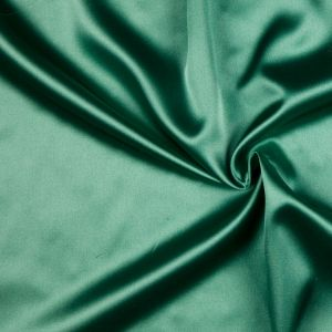 Kelly Green Solid Charmeuse