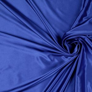 Electric Blue Solid Charmeuse