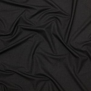 Charcoal Stretch Polyester Suiting