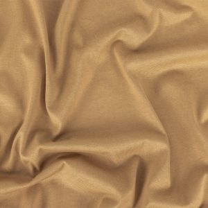 Gilded Beige Cotton and Rayon Jersey