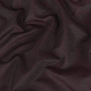 Italian Black and Magenta Silk and Wool Woven