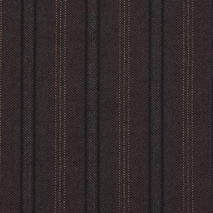 Dusted Brown Striped Suiting