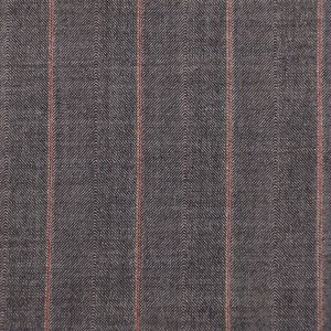 Gray/Clay Striped Suiting