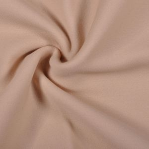 Light Beige Solid Double Face