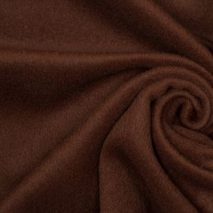 Light Brown Wool-Cashmere Coating