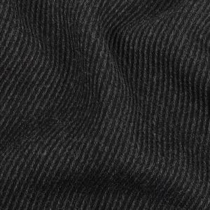 Calvin Klein Charcoal Solid Wool Coating