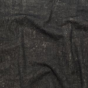 Charcoal/Gold Solid Twill