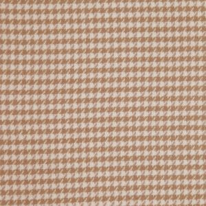 Flax Houndstooth Cashmere Coating