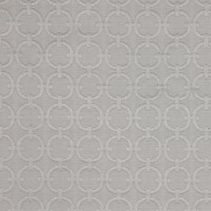 Sterling Geometric Embroidered Cotton-Poly Woven