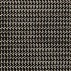 Black/Brown Houndstooth Woven