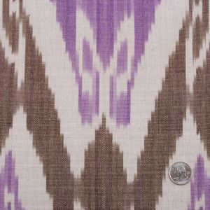 Orchid/Chestnut Ikat Woven