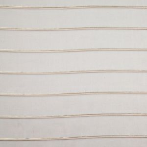 Coffee/Gold Stripes Sheer