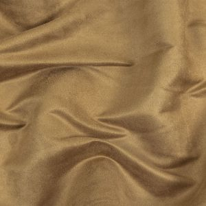 Camel Solid Faux Suede