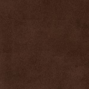 Chocolate Solid Faux Suede