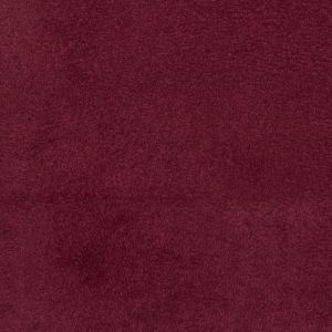 Wine Solid Faux Suede