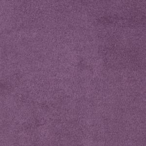 Aubergine Solid Faux Suede