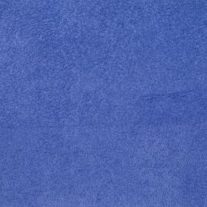 Sky Solid Faux Suede