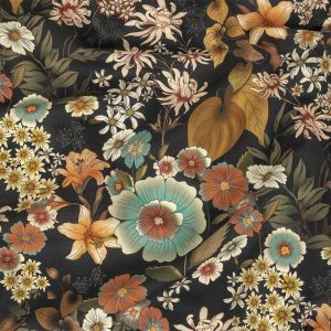 Mood Exclusive Narcissus' Reflection Rustic Cotton Voile