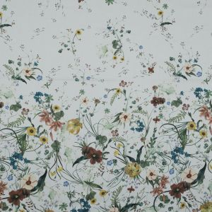 Mood Exclusive Persephone's Bouquet White Stretch Cotton Sateen