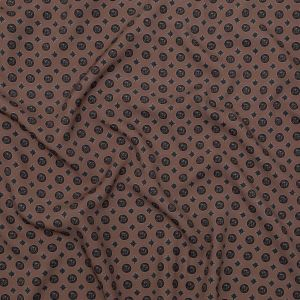 Mood Exclusive Rose Taupe Peaceful Ease Stretch Polyester Crepe