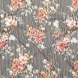 Mood Exclusive Stream of Consciousness Stretch Cotton Sateen