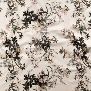 Mood Exclusive Antique White Aesthetic Matters Stretch Cotton Sateen
