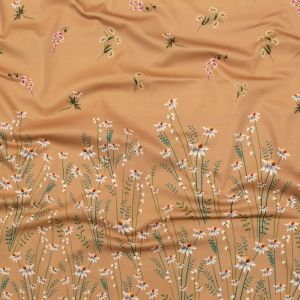 Mood Exclusive Brown Sugar Growing Distant Stretch Cotton Sateen