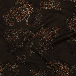 Mood Exclusive Gloomy Garden Stretch Polyester Crepe
