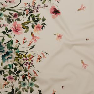 Mood Exclusive Frolicking Florescence Stretch Cotton Sateen