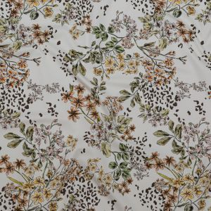 Mood Exclusive Blossoms Adrift Stretch Cotton Sateen
