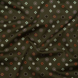Mood Exclusive Emblematic Medallions Stretch Cotton Sateen