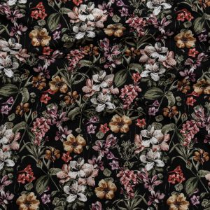 Mood Exclusive Floral Overflow Stretch Cotton Sateen