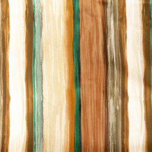 Mood Exclusive Nilotic Wasteland Orange and Teal Stretch Cotton Sateen