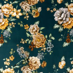 Mood Exclusive Peony Prowess Stretch Cotton Sateen