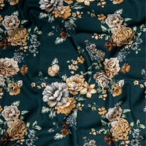 Mood Exclusive Peony Prowess Linen and Rayon Woven