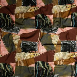 Mood Exclusive Distorted Dimensions Linen and Rayon Woven