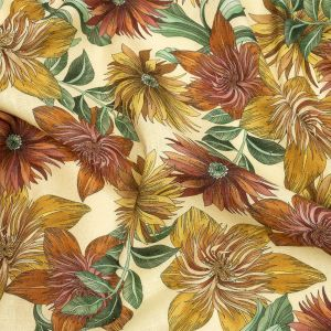 Mood Exclusive i Fiori Linen and Rayon Woven