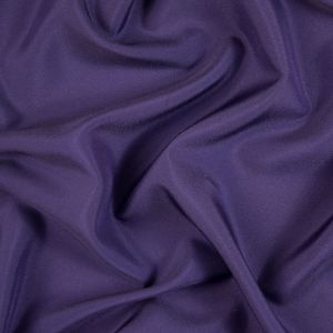 Eggplant Solid Polyester Satin