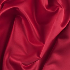 Valentine Red Solid Polyester Satin
