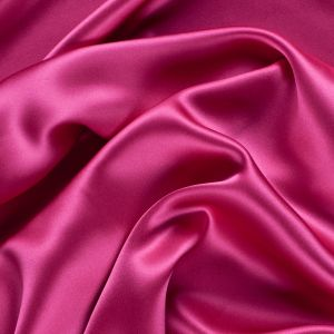 Beetroot Stretch Silk Charmeuse