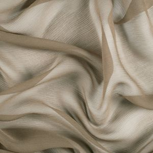 Capers Silk Crinkled Chiffon