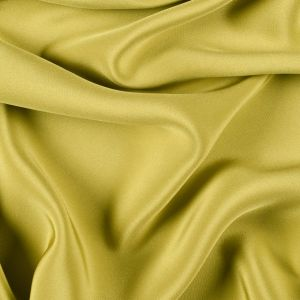 Warm Olive Silk 4-Ply Crepe